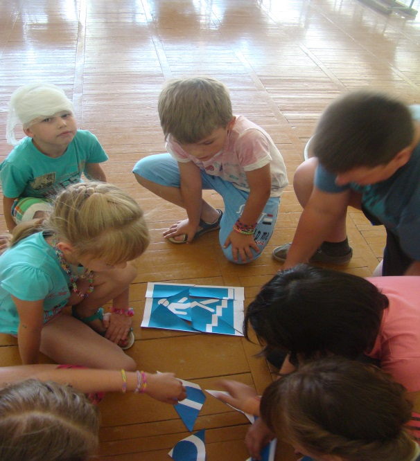 Фото игры для детского лагеря сюжетно-ролевые